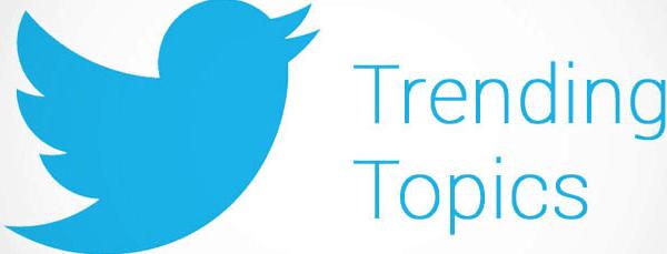 O que são trending topics